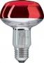 PHILIPS R80 60/E27 красная
