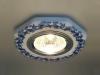 Светильник 9033 керамика MR16 бело-голубой (WH/BL) Электростанда