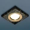 Светильник HS-2080 (BK/GD) черный/золото (MR16) Электростандарт