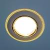 Светильник HS-870A (GU/G) черный/золото (MR16) Электростандарт