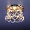 Светильник 2051-C  золото/тонированный хрусталь (G/GD) MR16