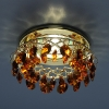Светильник 7070 золото/янтарь (GD/T) MR16