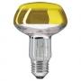 PHILIPS R80 60/E27 желтая