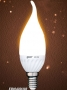 Лампа Gauss LED Ceramic Candle Tailed 3W E14 2700K