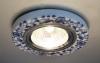 Светильник 9035 керамика MR16 бело-голубой (WH/BL) Электростанда