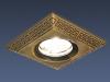 Светильник HS-120091 (SB) бронза (MR16) Электростандарт