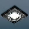 Светильник HS-2080 (BK/SL) черный/серебро (MR16) Электростандарт