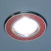 Светильник HS-611A (SH/R) красный блеск/хром (MR16) Электростанд