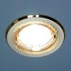 Светильник HS-704A CX (SN/G) сатин никель/золото (MR16) Электрос