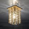 Светильник 207 MR16 золото/тонированный/прозрачный (GD/GL/Clear)