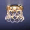 Светильник 2051-C  золото/белый хрусталь (GD/WH) MR16