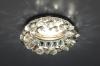 Светильник 206 хром/дымчатый/прозрачный (CH/SBK) MR16