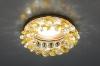 Светильник 206 золото/тонированный/прозрачный (FGD/GC) MR16