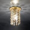 Светильник 208 E14 золото/тонированный/прозрачный (GD/GL/Clear)