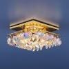 Светильник 7081 золото/перламутр (GD/Colorful) MR16