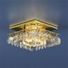 Светильник 7081 золото/прозрачный (GD/WH) MR16
