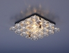 Светильник 7235 хром/прозрачный (CH/WH) MR16
