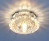 Светильник 6242 зеркальный/прозрачный (Clear) G9