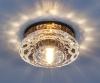 Светильник 6246 зеркальный/коричневый (BR) G9