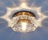 Светильник 6262 зеркальный/коричневый (BR) G9