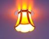 Светильник 8375 бронза/коричневый (SB/BROWN) G9