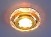 Светильник 1056 зеркальный/золотой (Clear/GD) MR16