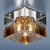 Светильник 494 коричневый/прозрачный (Brown/Clear) G4