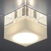 Светильник 494 белый/прозрачный (WH/Clear) G4