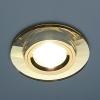 Светильник 8160 зеркальный/золотой (YL/GD) MR16
